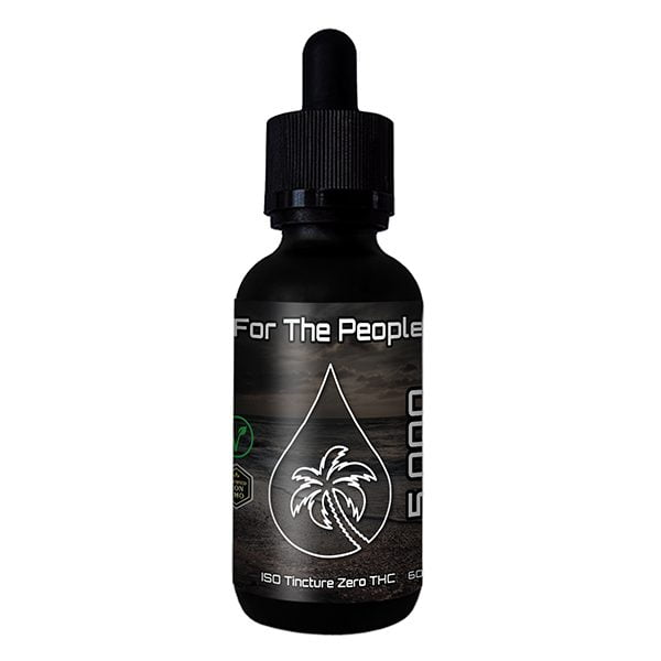 CBD Tincture Bottle 5000MG